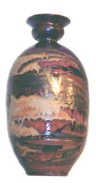 "Large Bottle 23"" h x 10"" w BY CHRIS KING"