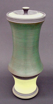 LIDDED JAR BY CHRIS KING