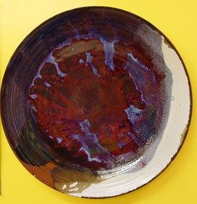 "HANGING PLATTER 24"" BY CHRIS KING"