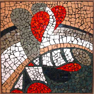ABSTRACT DESIGN MOSAIC 2X2'