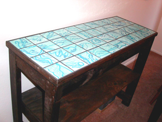 TILE TABLE TOP